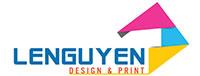 Công ty IN Lê Nguyễn - logo