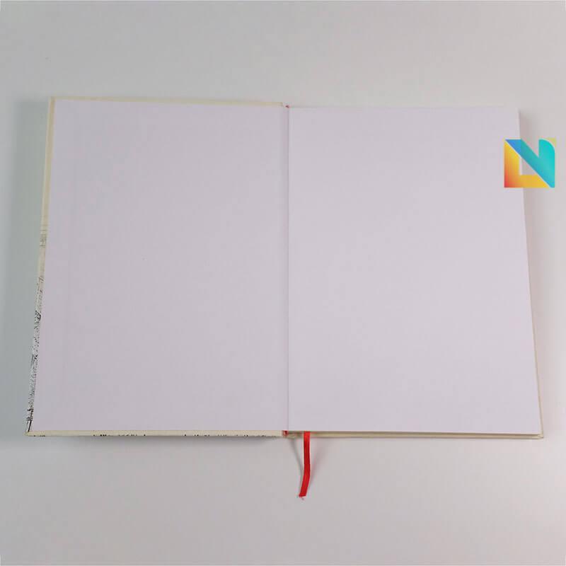 Sổ bìa cứng dán gáy PVH