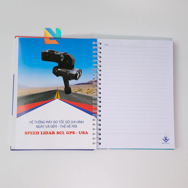 Sổ tay bìa bồi bìa cứng loxo DVIT