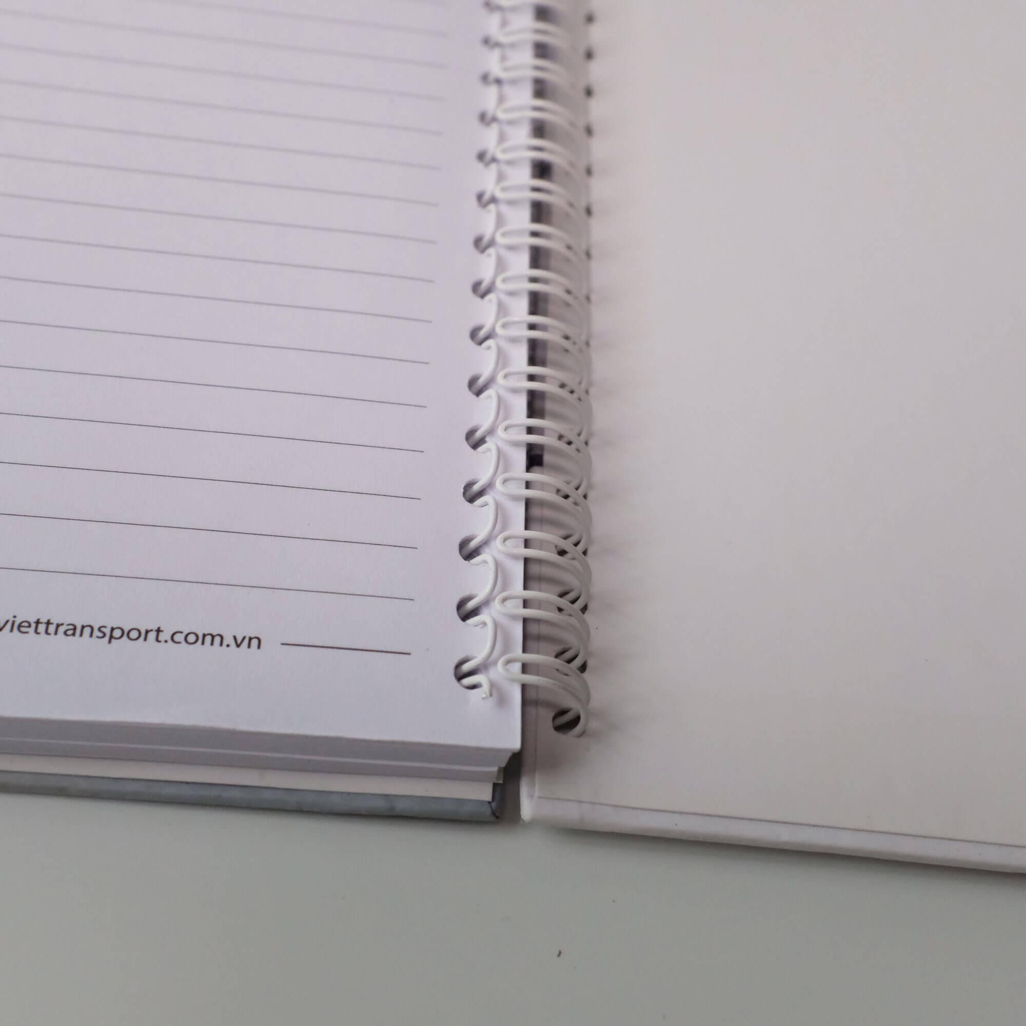 Sổ tay bìa bồi bìa cứng loxo Hưng Việt