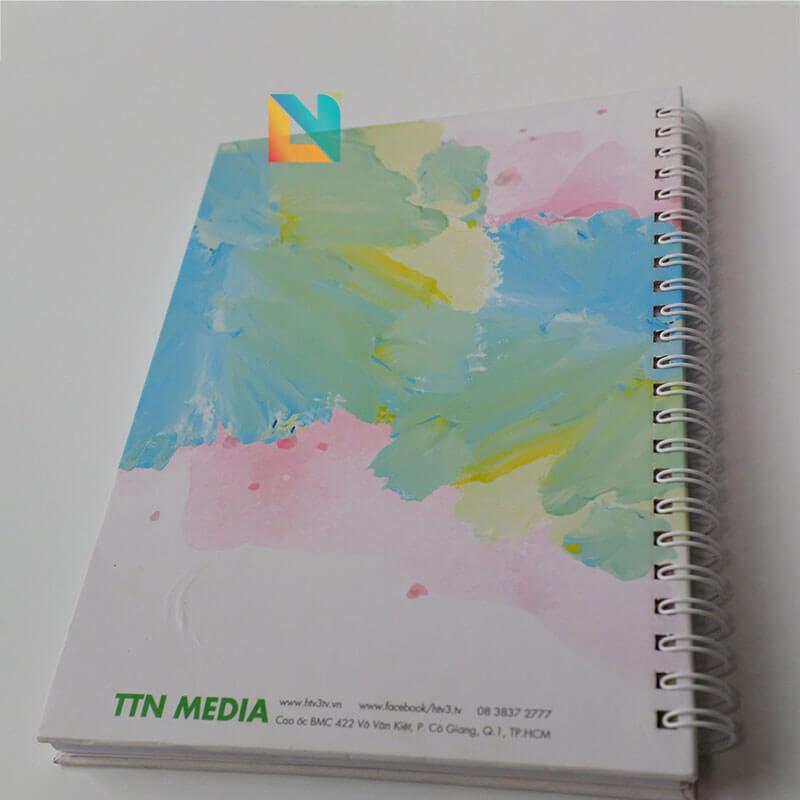 Sổ tay bìa bồi bìa cứng loxo TTN-MEDIA