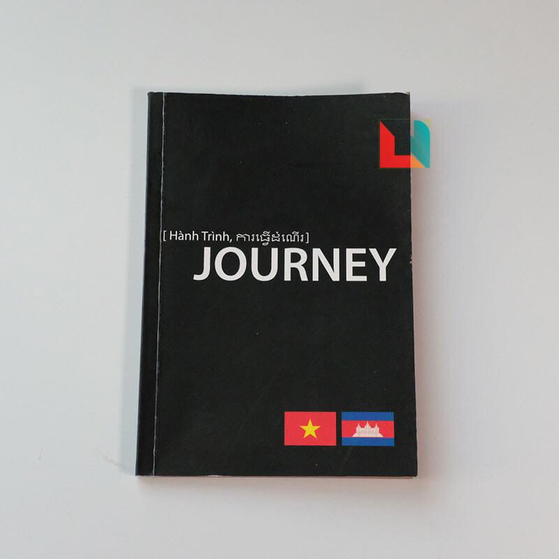 In sổ tay dán gáy Journey