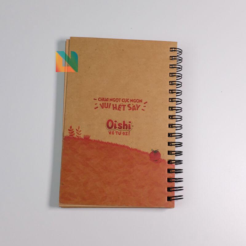 In sổ tay gáy loxo Oishi